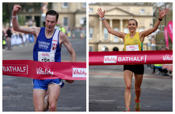Bath half winners